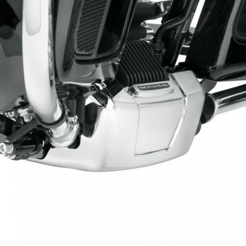 CHROME WATER PUMP COVER