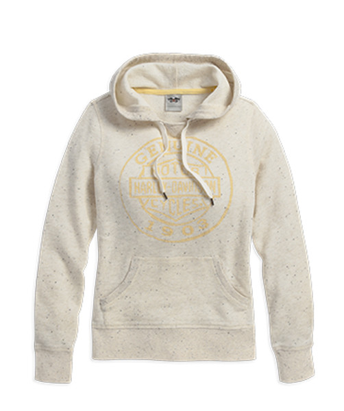 HOODIE-PULLOVER,SPECKLED,HEATH