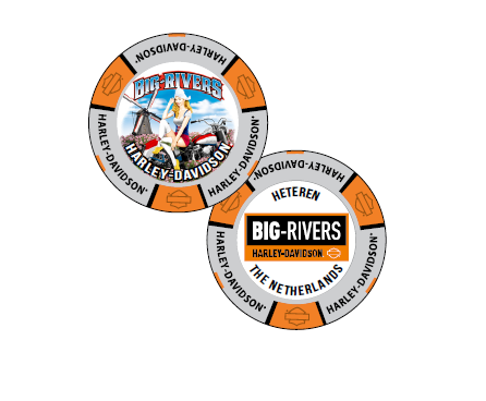 Full Color Costom Poker Chip HD