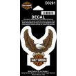 Decal, Upwing Eagle, Brown