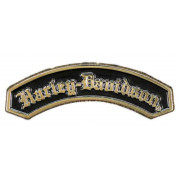 Pin, Harley-Davidson, Gold Finish 2D