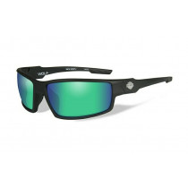 HD WOLF Green Mirror Matte Black Frame