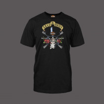 T-Shirts Guns and Roses Top Hat
