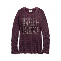 SWEATER-LOOSE WEAVE,ACID WASH,