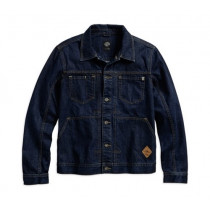 JACKET-DENIM,TRUCKER,BLU,B/L