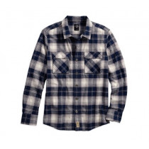 SHIRT-WORKWEAR,PLD,B/L