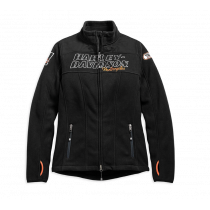JACKET-HD RACING,FLCE,BLK