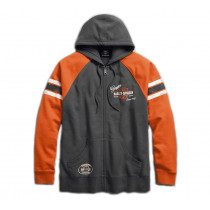 SWEATSHIRT-GMHR,GEN OIL,ZIP,L/
