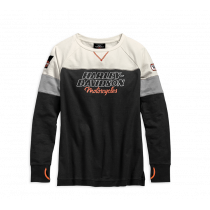SWEATSHIRT-HD RACING,FLCE,BLK