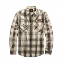 SHIRT-HD RACING,L/S,WVN,PLD