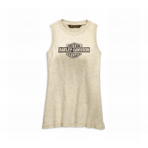 TEE-DISTRESSED LOGO,MUSCLE,S/L