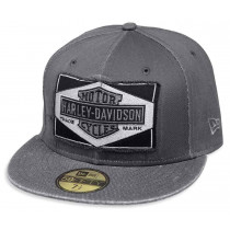 CAP-GMHR,59FIFTY,RAW EDGE,GRY