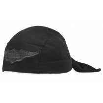 CAP-LOGO,KNIT,SKULL,WINGED,BLK