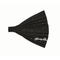 HEADWRAP-EMBELLISHED,BLK