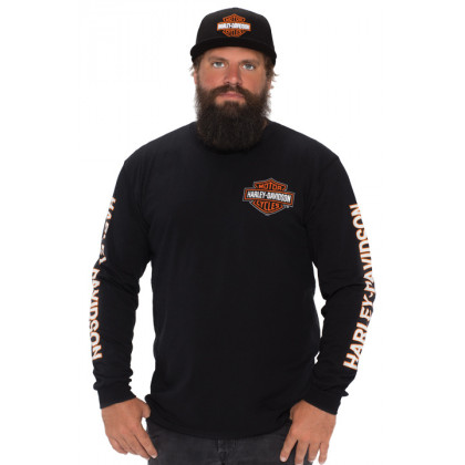 B&S LONGSLEEVE BLACK
