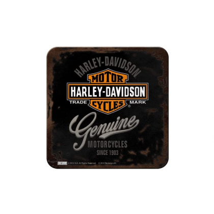 Nostalgic H-D  Genuine Coasters