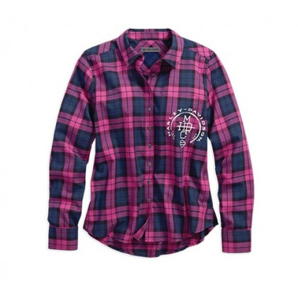 SHIRT-GRGO,L/S,STACKED,WOVEN,P