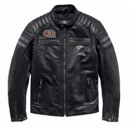 JACKET-HUTTO,PPE,LTHR,BLK,