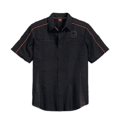 Vented Performance Skull Shirt