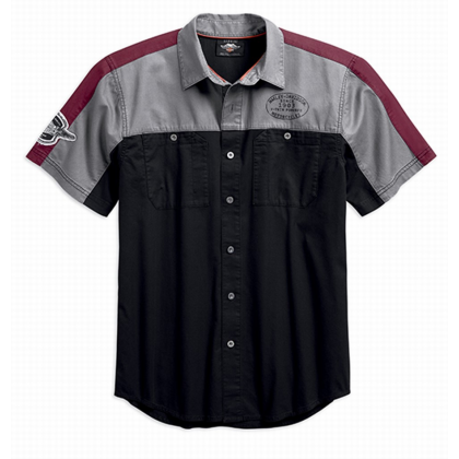 SHIRT-PERFORM,WINGED LOGO,S/S,