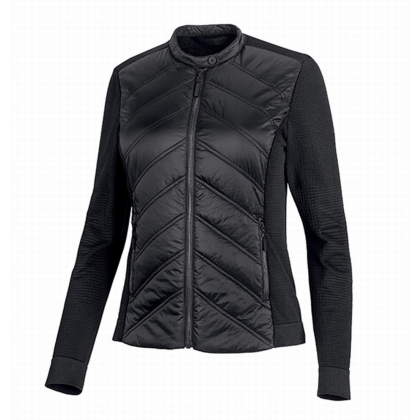 JACKET-QUILTED,STRETCH,NYLN,BL
