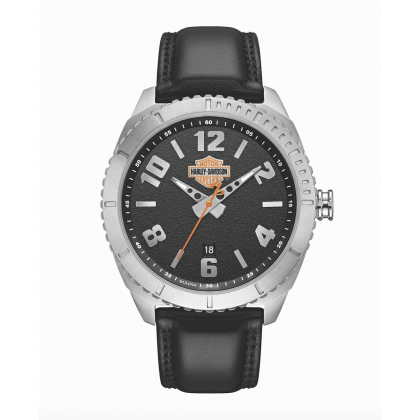 Watch Mens Collection Black Dial