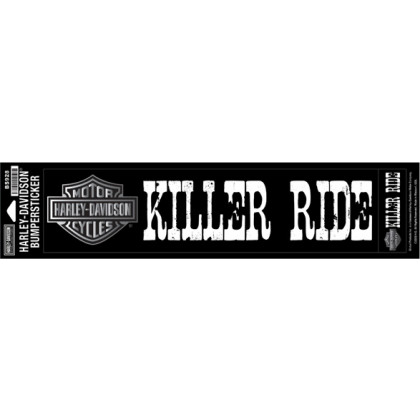 Bumpersticker, Killer Ride