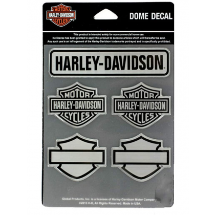 Dome Decal Bar&Shield