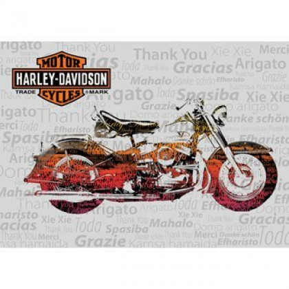 H-D Thank You Card