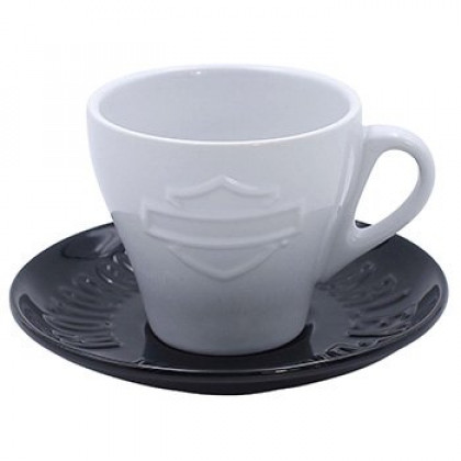 Motorcycles Cup & Saucer